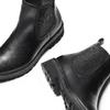 Chelsea Boots in vera pelle bata, nero, 594-6696 - 19