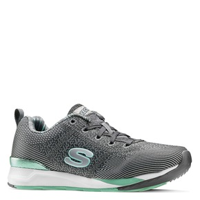 Sneakers Skechers da donna skechers, grigio, 509-2313 - 13