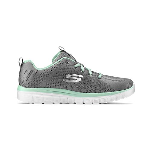 Scarpe sportive Skechers skechers, grigio, 509-2318 - 26
