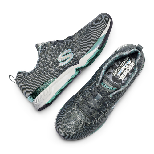 Sneakers Skechers da donna skechers, grigio, 509-2313 - 19