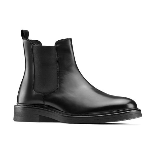 Chelsea Boots in vera pelle bata, nero, 894-6733 - 13
