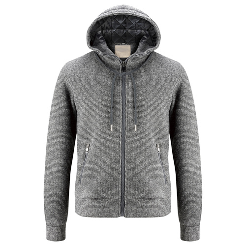 Giacca da uomo con cappuccio, grigio, 979-2146 - 13