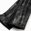 Guanti da donna in vera pelle bata, nero, 904-6129 - 26