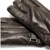 Guanti da uomo in pelle bata, marrone, 904-4127 - 16