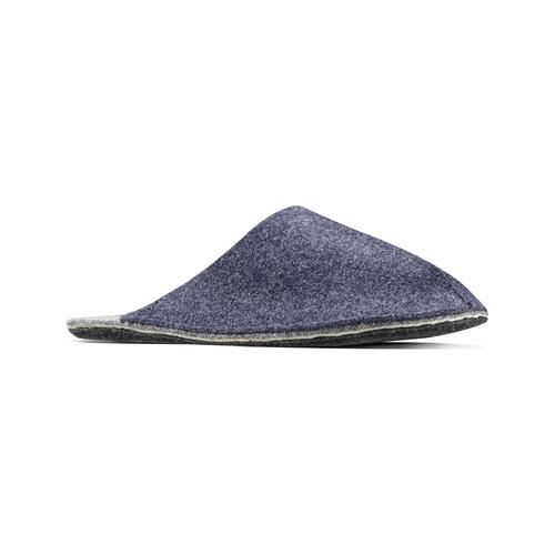Pantofole da uomo bata, viola, 879-9114 - 13