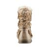 Stivaletti con ecopelliccia mini-b, marrone, 391-3412 - 16