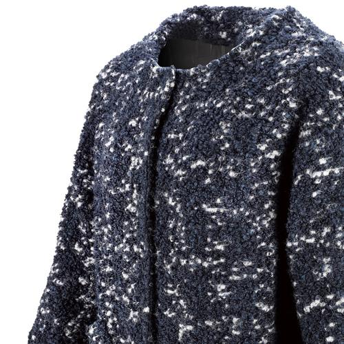 Cappotto in lana da donna bata, viola, 979-9124 - 15