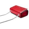 Tracolla da donna in vera pelle bata, rosso, 964-5277 - 17