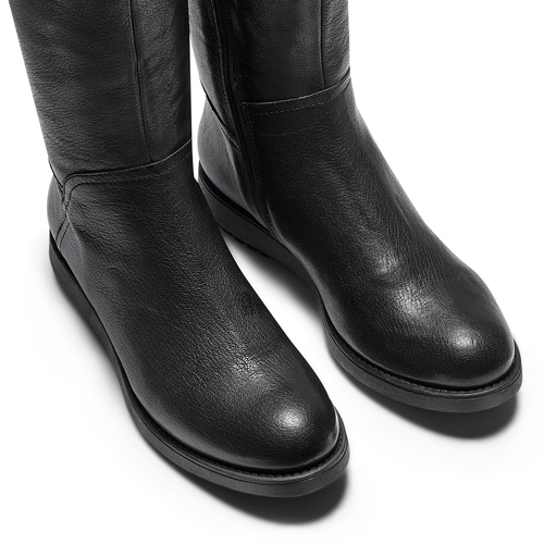 Stivali alti Flexible da donna flexible, nero, 594-6651 - 15