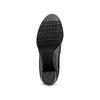 Ankle boots in vera pelle bata, nero, 794-6676 - 19