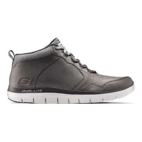 Sneakers Skechers in pelle skechers, nero, grigio, 806-2327 - 26