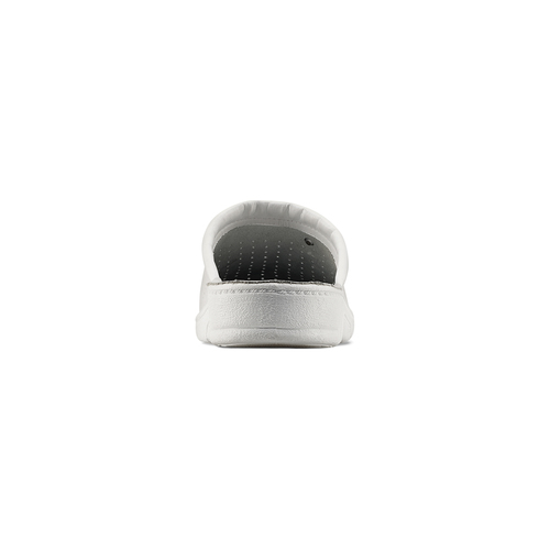 Ciabatte in vera pelle bata-comfit, bianco, 874-1803 - 16
