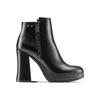 Ankle boots con tacco quadrato bata, nero, 791-6290 - 26