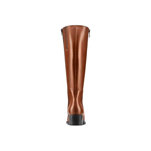 Stivali da donna in vera pelle bata, marrone, 694-3436 - 26