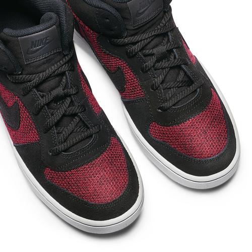 Nike Court Borough Mid da ragazzo nike, rosso, 401-5405 - 19