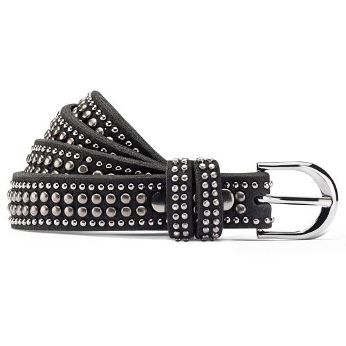 Cintura da donna con borchie bata, nero, 959-6335 - 13
