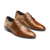 Stringate in pelle da uomo bata, marrone, 824-4357 - 16