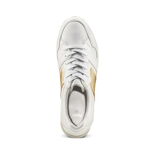 Sneakers Platform da donna bata, bianco, 644-1198 - 17
