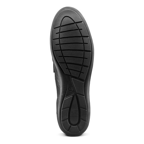 Sneakers da uomo con strappi bata, nero, 844-6140 - 19