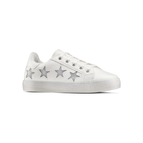 Sneakers Made in Italy da bambina mini-b, bianco, 321-1319 - 13