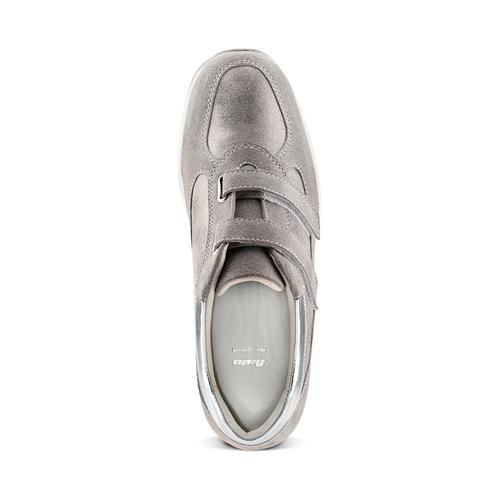 Scarpe casual da donna bata, grigio, 513-2202 - 17