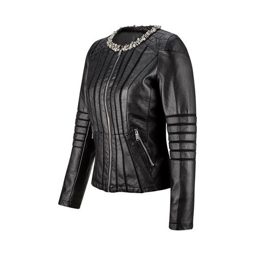 Giacca da donna con perline bata, nero, 971-6214 - 16