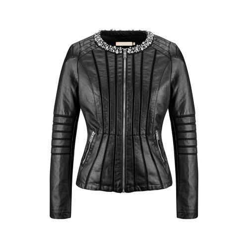 Giacca da donna con perline bata, nero, 971-6214 - 13