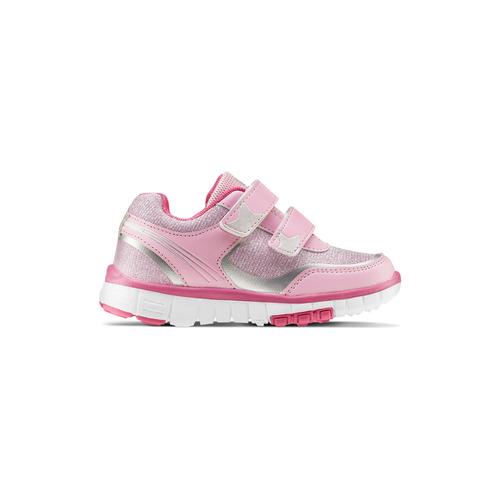Sneakers basse rosa mini-b, 229-5220 - 26