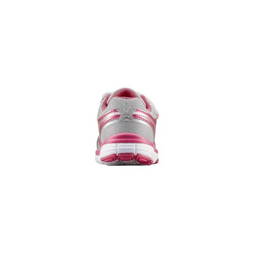 Sneakers rosa con strappi mini-b, 229-1220 - 16