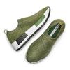 Sneakers Platform bata, verde, 539-7129 - 26