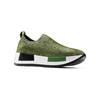 Sneakers Platform bata, verde, 539-7129 - 13