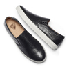 Slip on in vera pelle, nero, 834-6136 - 19