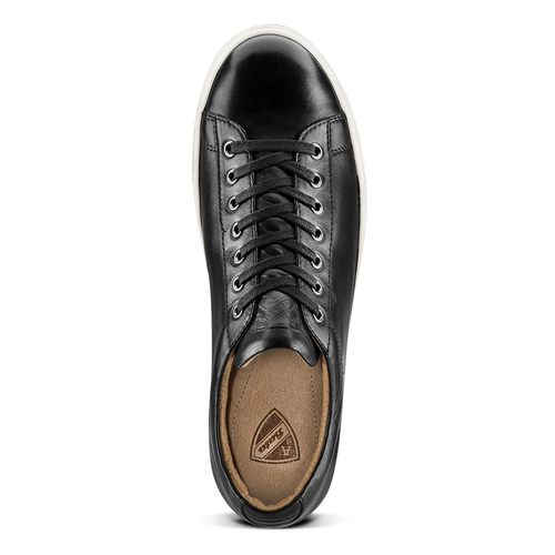 Sneakers Atletico in pelle atletico, nero, 844-6156 - 15