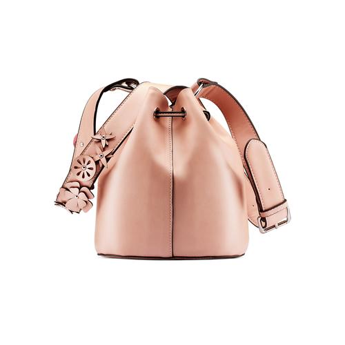 Borsa a secchiello bata, rosa, 961-5230 - 26