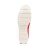 Mocassini da donna in suede bata-touch-me, rosso, 513-5181 - 19