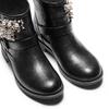 Ankle boots con perle bata, nero, 591-6783 - 17