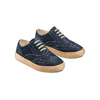 Stringate in suede mini-b, blu, 313-9191 - 16