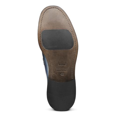 Mocassino in vera pelle da uomo bata-the-shoemaker, blu, 814-9129 - 17