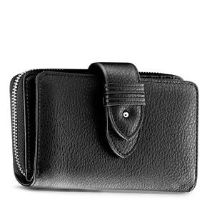 Portafoglio in similpelle bata, nero, 941-6160 - 13