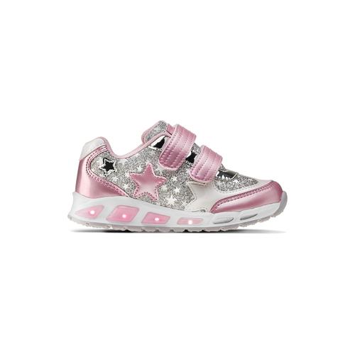 Sneakers con glitter da bambina mini-b, rosa, 221-5194 - 26