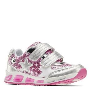 Sneakers con luci da bambina mini-b, grigio, 221-2194 - 13
