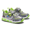 Sneakers da bambino con luci mini-b, grigio, 211-2102 - 19