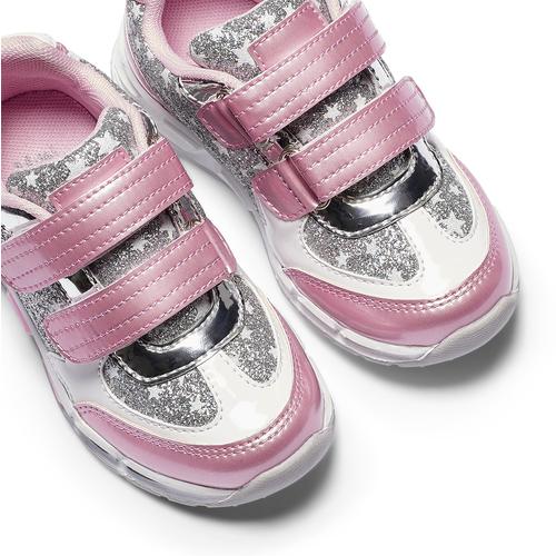 Sneakers con glitter da bambina mini-b, rosa, 221-5194 - 19