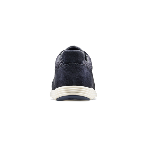 Sneakers in pelle bata-light, blu, 844-9161 - 16