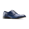 Derby da uomo in vera pelle bata-the-shoemaker, blu, 824-9332 - 13