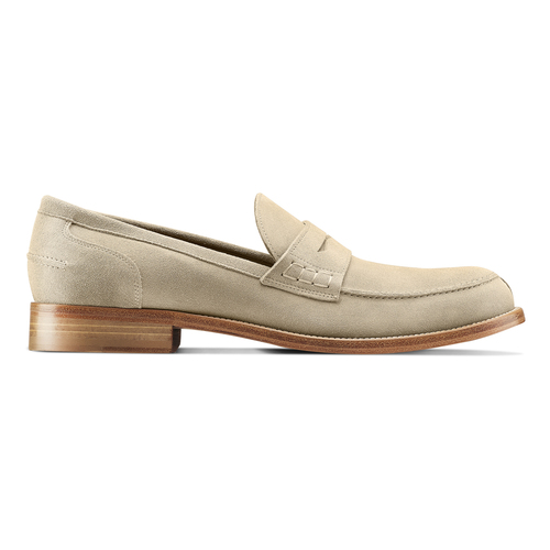 Mocassini in suede da uomo bata-the-shoemaker, beige, 813-3116 - 26