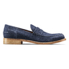 Mocassini in suede bata-the-shoemaker, blu, 813-9116 - 26