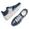 Sneakers in pelle Platform bata, blu, 624-9158 - 26