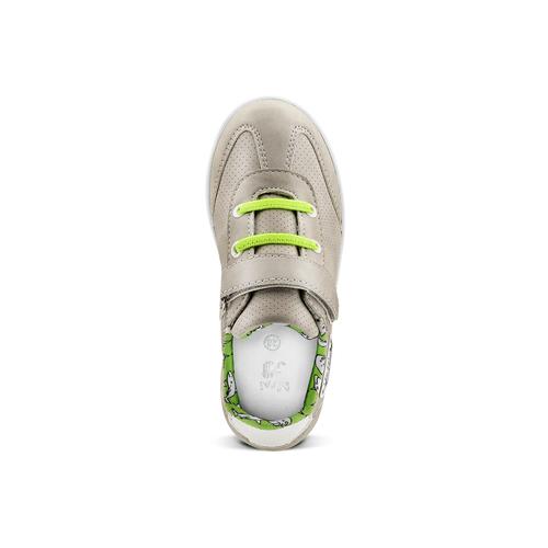 Sneakers basse da bambino mini-b, beige, 211-2191 - 15