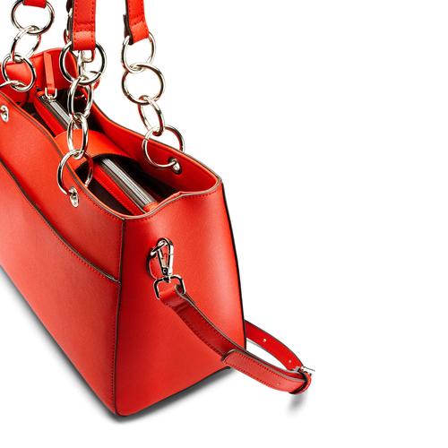 Borsa a spalla bata, rosso, 961-5343 - 15